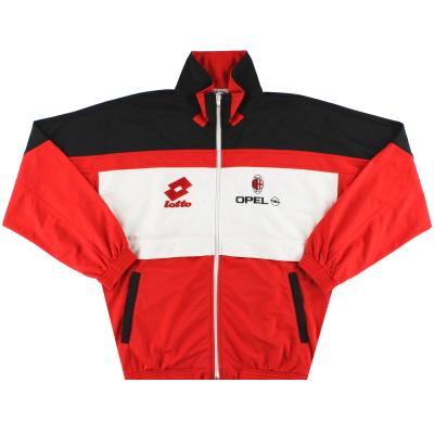 1994-95 AC Milan Lotto Track Jacket XL