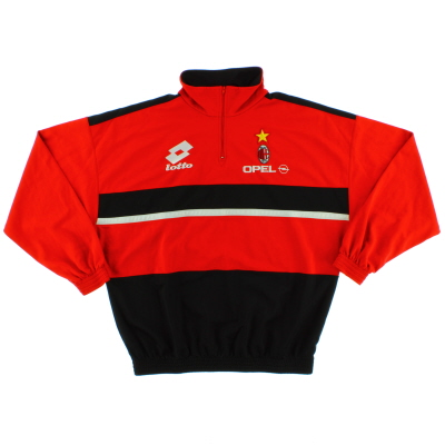 1994-95 AC Milan Lotto Track Top *Mint* L