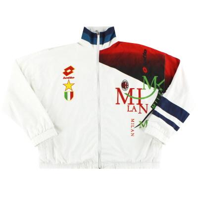 1994-95 AC Milan Lotto Tracksuit Jacket XL