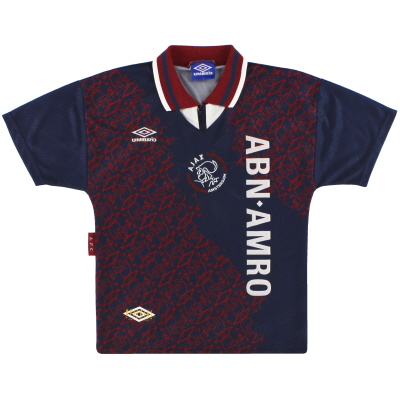 1994-95 Ajax Umbro Away Shirt Y