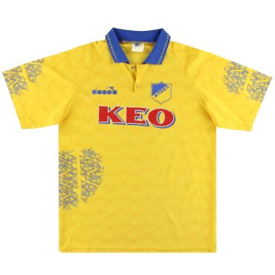 1994-95 APOEL Diadora Home Shirt M
