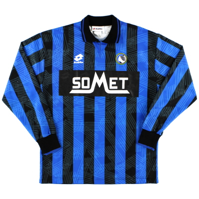 1994-95 Atalanta Player Issue Home Shirt #3 L/S XL
