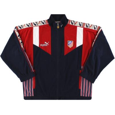1994-95 Atletico Madrid Puma Fleece Jacket XL
