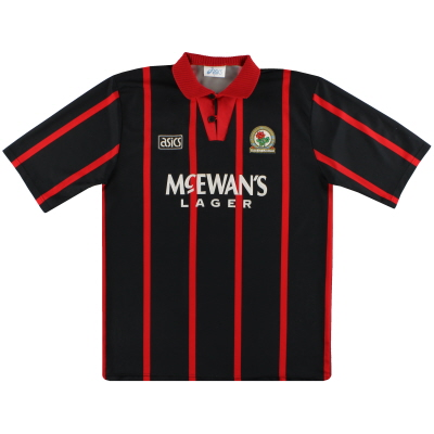 1994-95 Blackburn Asics Away Shirt L