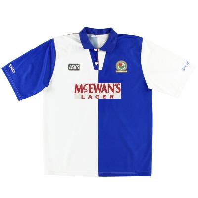 1994-95 Blackburn Asics Home Shirt XXL