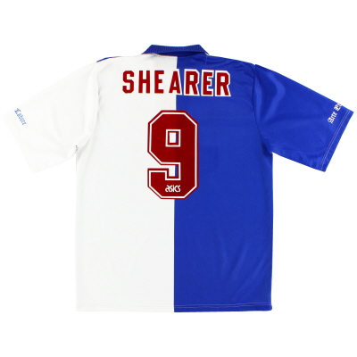 1994-95 Blackburn Home Shirt Shearer #9 L