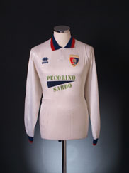 1994-95 Cagliari Away Shirt L/S L