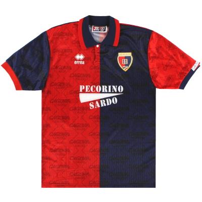 1994-95 Cagliari Errea Home Shirt M