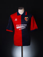 1994-95 Cagliari Home Shirt *BNIB* XL