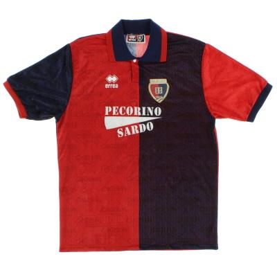1994-95 Cagliari Home Shirt L