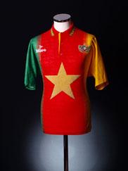 1994-95 Cameroon Home Shirt M