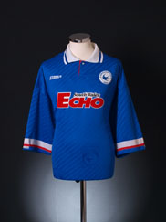 1994-95 Cardiff Home Shirt *Mint* XL