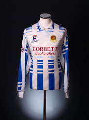 1994-95 Chester City Match Worn Home Shirt #4 L/S XL