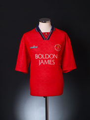 1994-95 Crewe Alexandra Home Shirt *Mint* M