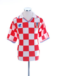 1994-95 Croatia Basic Home Shirt XL