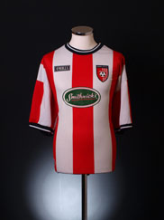 1994-95 Derry City Home Shirt M