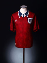 1994-95 England Away Shirt *BNIB* L