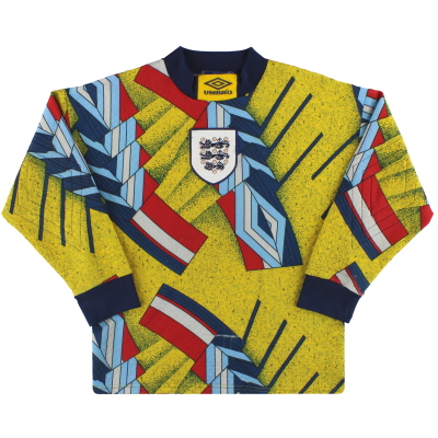 1994-95 England Umbro Goalkeeper Shirt Y