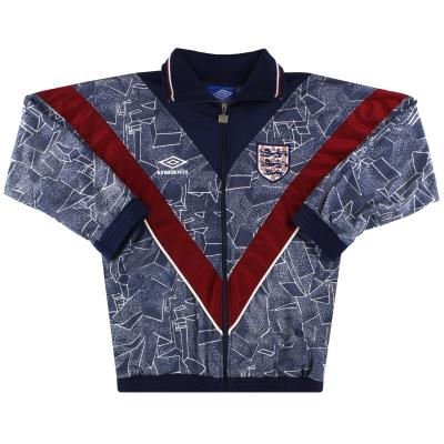 1994-95 England Umbro Track Jacket Y