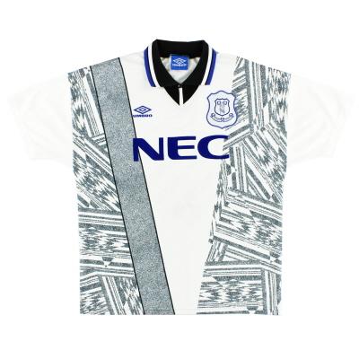 1994-95 Everton Umbro Away Shirt L