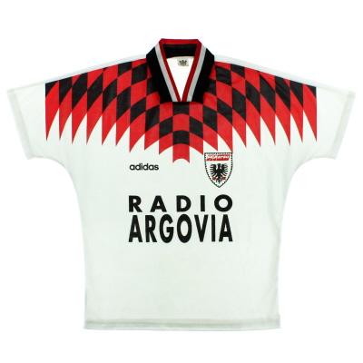 1994-95 FC Aarau Home Shirt M