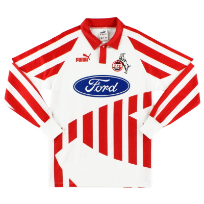 1994-95 FC Koln Home Shirt L/S S