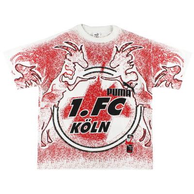 1994-95 FC Koln Puma T-Shirt L