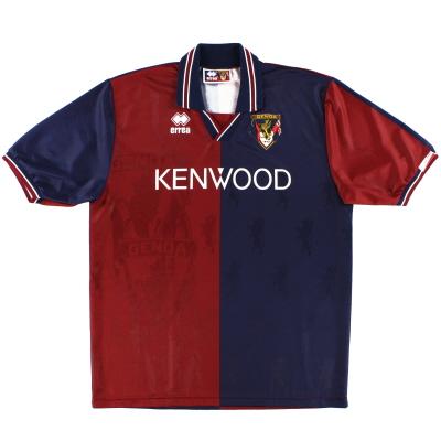 1994-95 Genoa Home Shirt *Mint* XL
