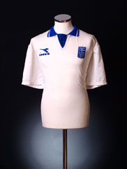 1994-95 Greece Away Shirt *Mint* XL