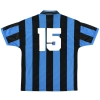 1994-95 Inter Milan Match Issue Home Shirt #15 XL