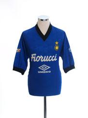 1994-95 Inter Milan Umbro Training Shirt L