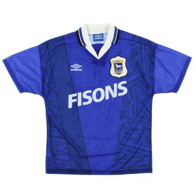 1994-95 Ipswich Home Shirt L