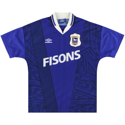 1994-95 Ipswich Umbro Home Shirt *Mint* L