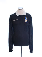 1994-95 Italy FIGC Referee Shirt L/S L