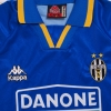1994-95 Juventus Away Shirt L