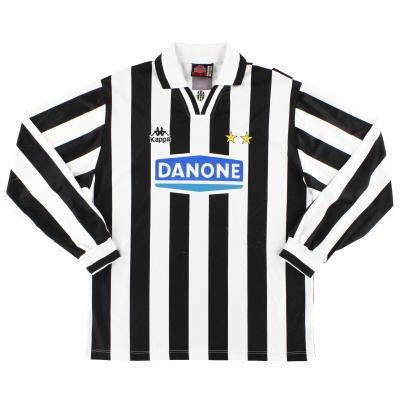 1994-95 Juventus Kappa Home Shirt L/S L