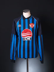 1994-95 Kettering Away Shirt L/S XL