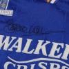 1994-95 Leicester Fox Leisure Match Worn Home Shirt Walsh #5 L
