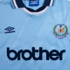 1994-95 Manchester City Centenary Home Shirt Rosler #28 L