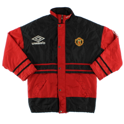 1994-95 Manchester United Umbro Bench Coat M
