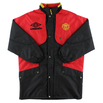 1994-95 Manchester United Umbro Bench Coat XL
