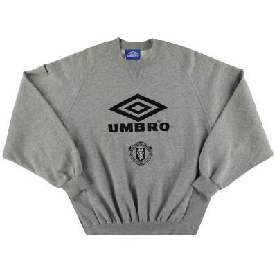 1994-95 Manchester United Umbro Sweatshirt L