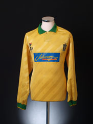 1994-95 Marine Match Worn Away Shirt #15 L/S XL