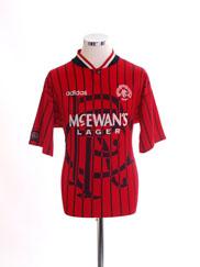 1994-95 Rangers Away Shirt XL