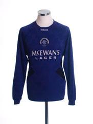 1994-95 Rangers Goalkeeper Shirt S