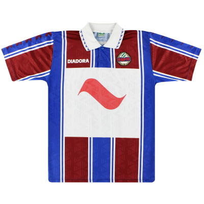 1994-95 Rapid Vienna Diadora Player Issue Away Shirt #3 XL