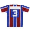 1994-95 Rapid Vienna Diadora Player Issue Away Shirt #3 XL