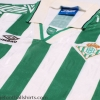 1994-95 Real Betis Home Shirt XL