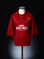 1994-95 Roma Home Shirt XL