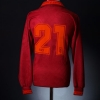 1994-95 Roma Match Worn Home Shirt #21 L/S L